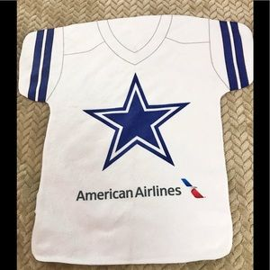 Unique towel/Cowboys-American Airlines